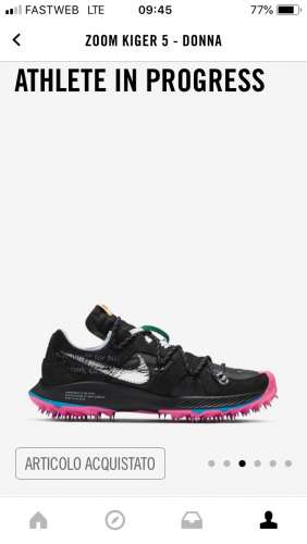 Nike air zoom Terra Kiger 5 x off white black Meetapp