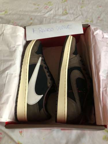 WTS Air Jordan Low travis scott