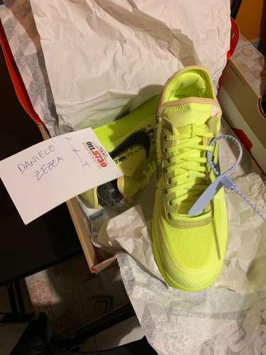 "Nike air force 1 x off-white ""Volt"""