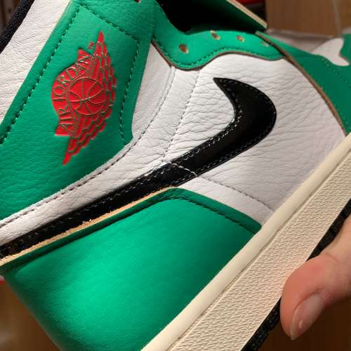 Jordan 1 high Lucky green