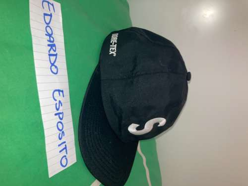 WTS SUPREME GORE TEX S LOGO 6 PANEL BLACK
