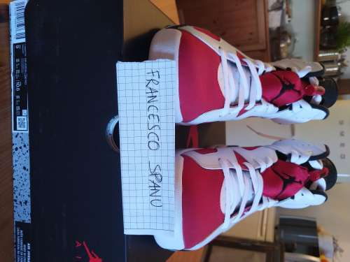 Air Jordan 6 retro Carmine EU 42.5