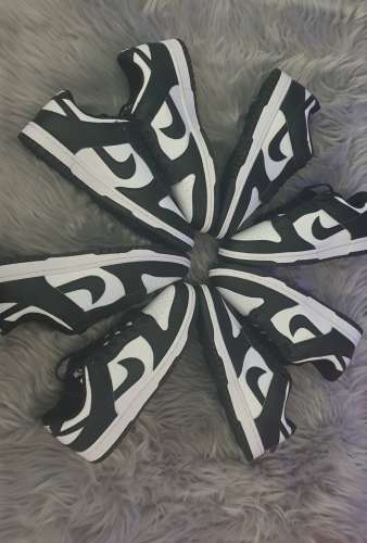 Dunk low black & white 41 x 2, 42, 42 5