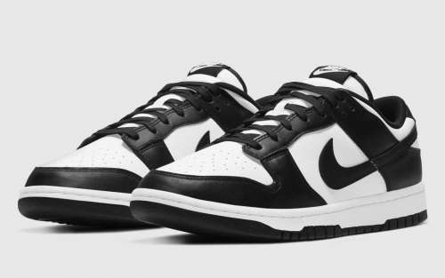 NIKE DUNK LOW BLACK & WHITE